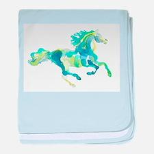 Cute Horses baby blanket