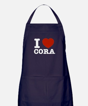 I love Cora Apron (dark)