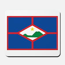 Sint Eustatius Flag Mousepad