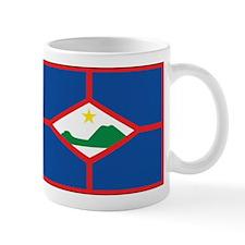 Sint Eustatius Flag Mug