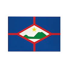Sint Eustatius Flag Rectangle Magnet