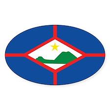 Sint Eustatius Flag Decal