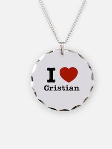 I love Cristian Necklace