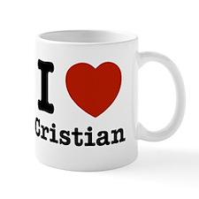 I love Cristian Mug