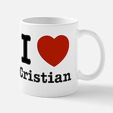 I love Cristian Small Small Mug