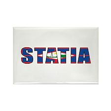 Statia Rectangle Magnet