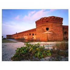 Florida, Dry Tortugas National Park, Fort Jefferso Poster