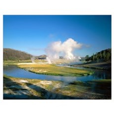Wyoming, Yellowstone National Park, Midway Geyser  Poster
