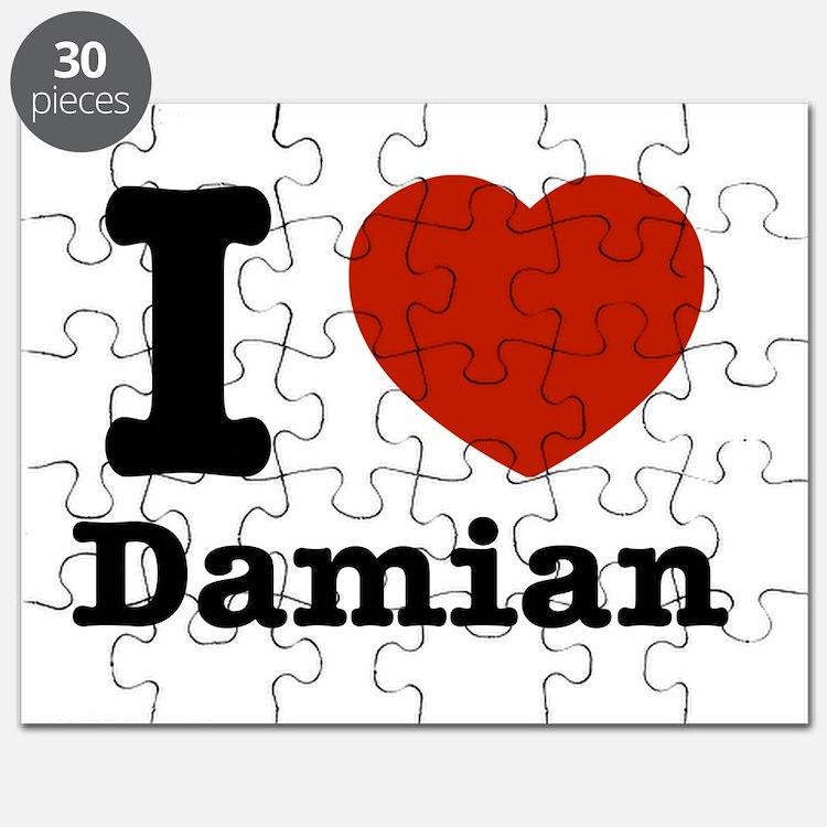 I love Damian Puzzle