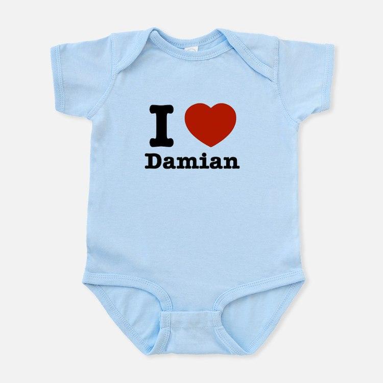 I love Damian Infant Bodysuit