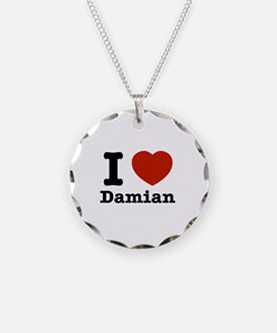 I love Damian Necklace