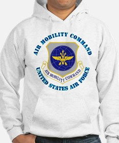 Air Mobility Command with Text Hoodie