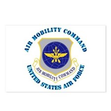 Air Mobility Command with Text Postcards (Package