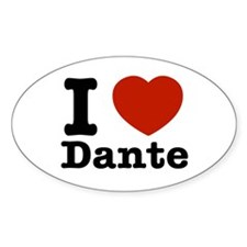 I love Dante Decal