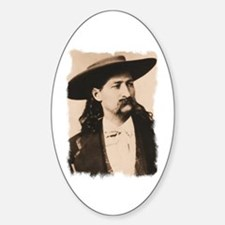 Wild Bill Hickok Oval Decal