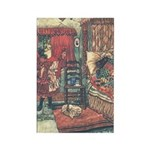 Folkard's Red Riding Hood Rectangle Magnet