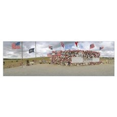 Memorial of flight 93, Shanksville, Pennsylvania Poster