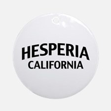 Hesperia California Ornament (Round)