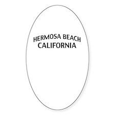 Hermosa Beach California Decal