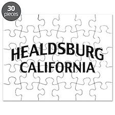Healdsburg California Puzzle