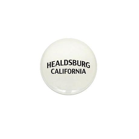 Healdsburg California Mini Button