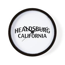Healdsburg California Wall Clock