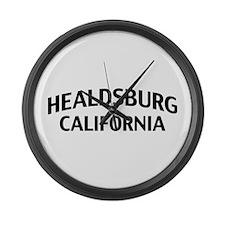 Healdsburg California Large Wall Clock