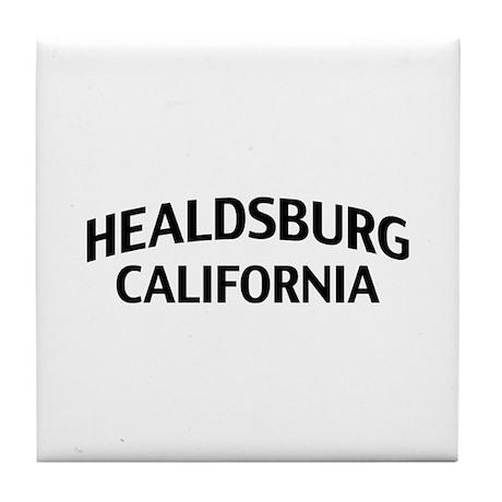 Healdsburg California Tile Coaster