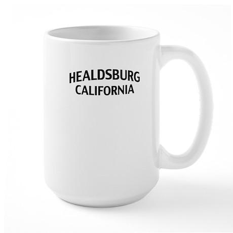 Healdsburg California Large Mug
