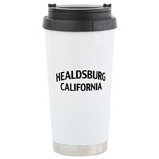Healdsburg California Travel Coffee Mug