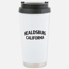Healdsburg California Travel Mug