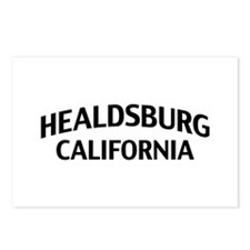 Healdsburg California Postcards (Package of 8)