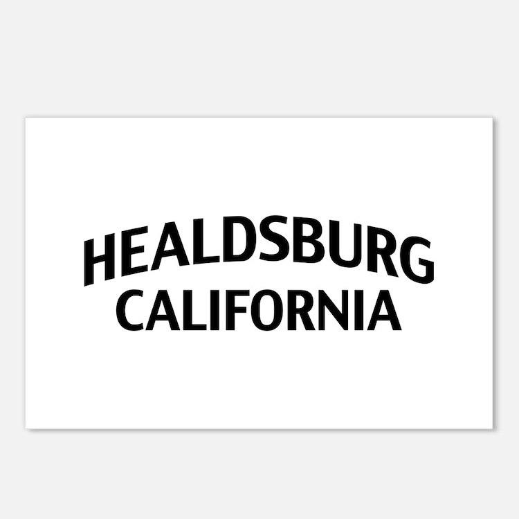 Healdsburg California Postcards (Package of 8)