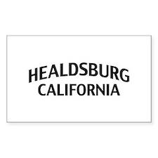 Healdsburg California Decal