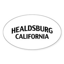 Healdsburg California Decal
