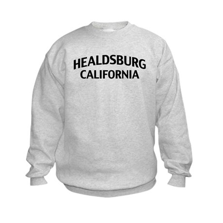 Healdsburg California Kids Sweatshirt