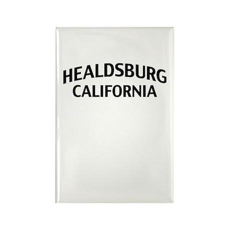Healdsburg California Rectangle Magnet