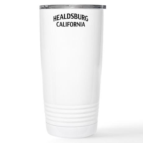 Healdsburg California Stainless Steel Travel Mug