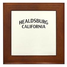 Healdsburg California Framed Tile