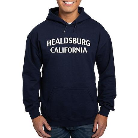 Healdsburg California Hoodie (dark)