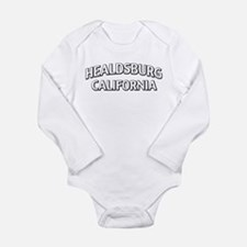 Healdsburg California Long Sleeve Infant Bodysuit