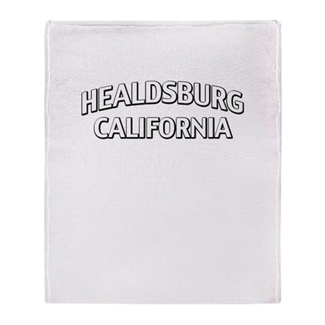 Healdsburg California Throw Blanket