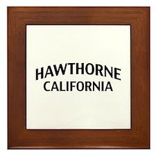 Hawthorne California Framed Tile