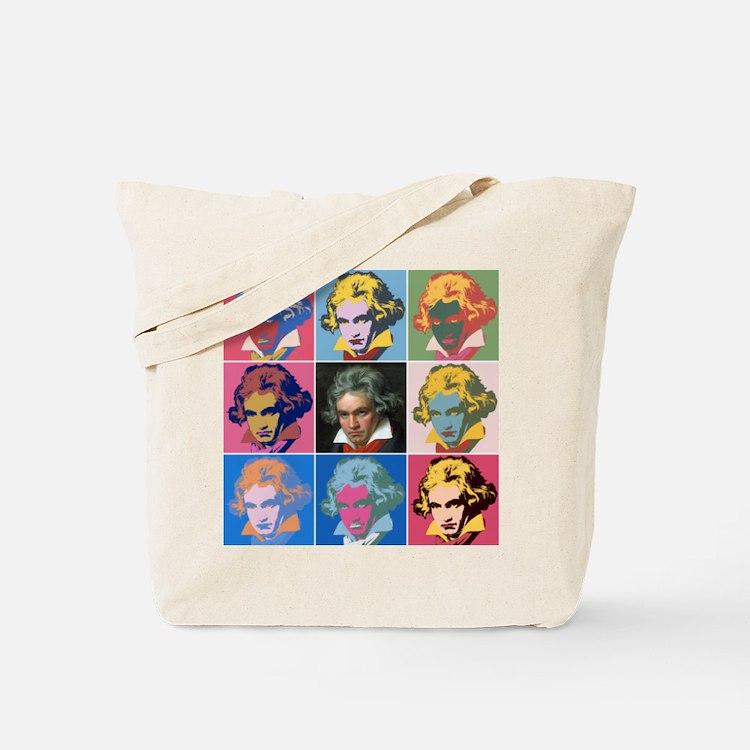 Cute Beethoven Tote Bag