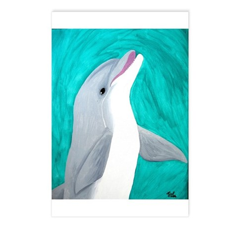 Laughing Dolphin Postcards (Package of 8)