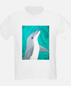 Laughing Dolphin Kids T-Shirt
