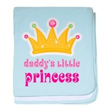 Funny Daddys little baby blanket