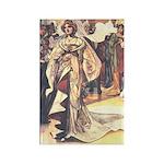 Charles Robinson's Cinderella Rectangle Magnet