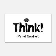 Think! 22x14 Wall Peel