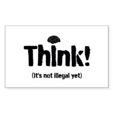 Think! Decal